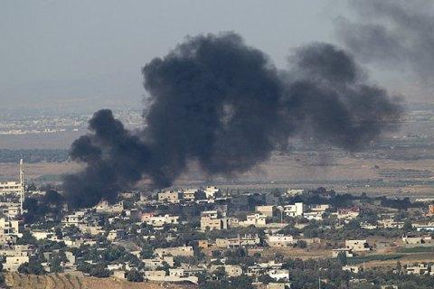 """Reuters: Россия обстреляла районы Сирии, контролируемые не """"Исламским государством"""""""
