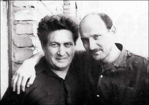 Виктор Красин(справа) и Петр Якир