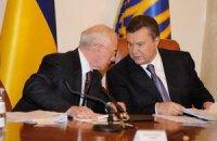 Янукович обсудил с Азаровым риски от подписания СА с ЕС