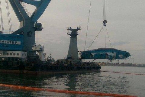 Правоохранители нашли и допросили владельца затонувшего в Затоке катера