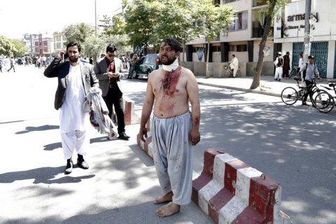 Кількість загиблих унаслідок вибуху вКабулі перевищила 150 осіб