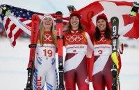 Швейцарка Гізін - олімпійська чемпіонка Пхьончхана в комбінації