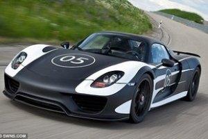 Porsche представил экономичный спорткар