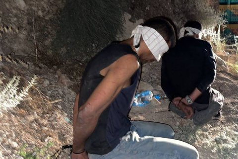В Ізраїлі піймали чотирьох з шести палестинців, які втекли з в'язниці, викопавши тунель ложкою