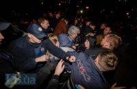 Киевская полиция открыла производство после драки возле стройки на Ревуцкого