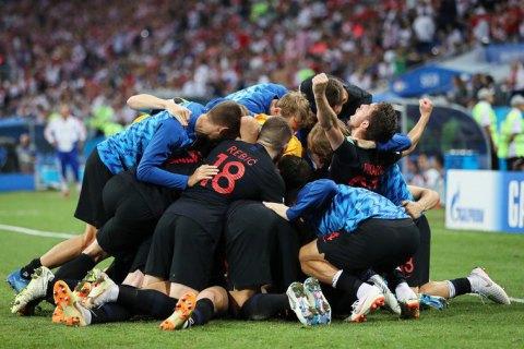 Збірна Хорватії поклала край казці для росіян на ЧС-2018