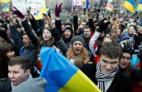 Хроника студенческого Евромайдана