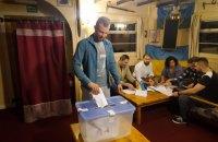 Українські полярники проголосували на виборах у Раду