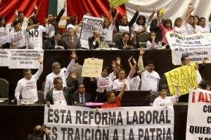 В Мексике протестующие выпустили на свободу заключенных