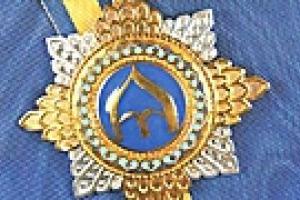 Ющенко наградил  Еханурова и Богатыреву орденами