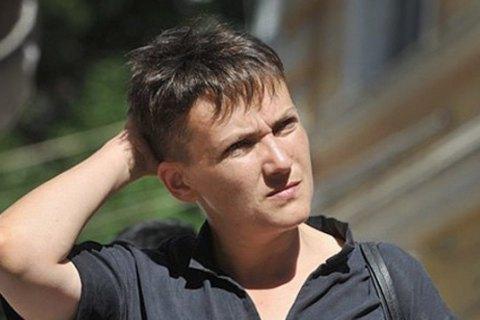 Савченко опровергла попытку попасть в Донецк к Захарченко