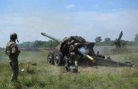 Артиллеристы ВМС ВСУ провели учения по противодесантной обороне