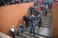 Активисты опознали женщину, которая добивала ногами майдановцев в Харькове