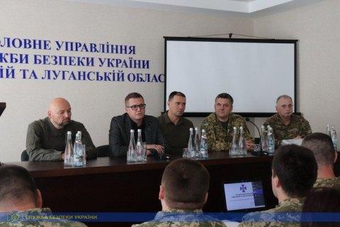 В.о. голови СБУ Баканов відвідав Широкине