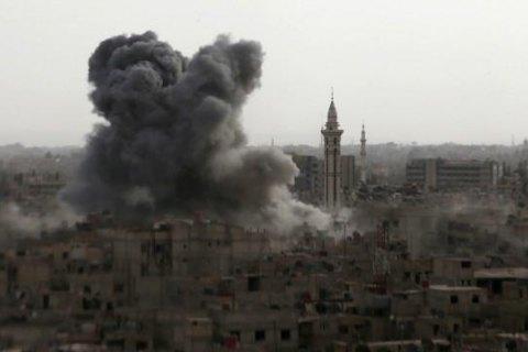 РФ отрицает гибель мирных жителей в Сирии из-за российских авиаударов