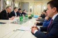Стали відомі подробиці зустрічі Порошенка з лідерами парламентських фракцій