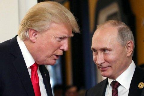 Трамп пообіцяв Путіну виграти гонку озброєнь