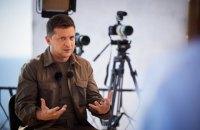 Зеленський: Крим із радістю прийме українську владу після деокупації