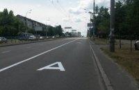 На бульварі Перова в Києві виділили смугу для громадського транспорту