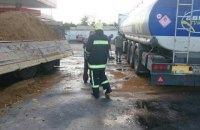 На автозаправке в Винницкой области разлился бензин