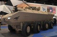 В ОАЭ показали БТР Al-Wahash с украинским боевым модулем