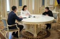 Скалецька відзвітувала Зеленському про ситуацію з коронавірусом в Україні