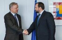 Арбузов рассказал вице-президенту Еврокомиссии о приоритетах экономической политики Украины