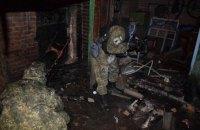 В селе под Славянском мужчина погиб, пытаясь распилить боеприпас болгаркой