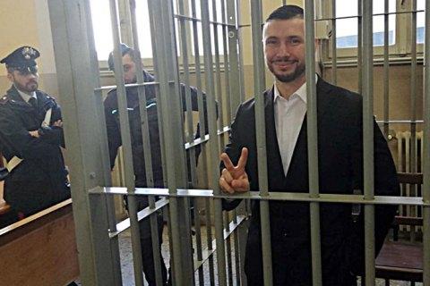 Геращенко в Италии посетил нацгвардейца Маркива
