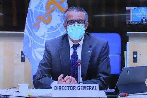 Глава ВООЗ оголосив про початок нової хвилі пандемії