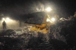 В Словакии снег парализовал дороги и оставил без света тысячи домов