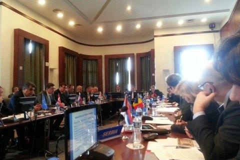 Украинская делегация покинула заседание ОЧЭС из-за председательства России
