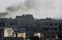 Сирійська армія обстрілює повстанські райони