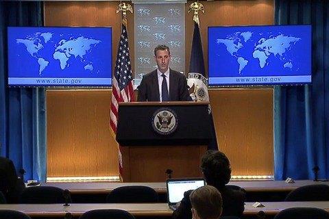 Заявление РФ об отводе войск от украинских границ пока остается только словами, - Госдеп