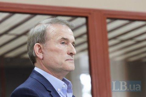 Печерский суд назначил Медведчуку домашний арест до 7 декабря (обновлено)