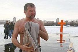 Балога и Криль окунулись не хуже Ющенко