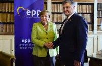 Порошенко встретился с Меркель в Брюсселе