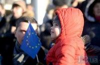 В ЕС хотят 55% украинцев, в НАТО - 47%, - соцопрос Института Горшенина