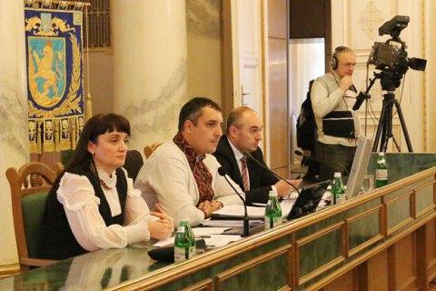 Львівська облрада підтримала торговельну блокаду Донбасу