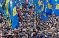Марш ОУН-УПА в Киеве прошел без нарушений, - милиция