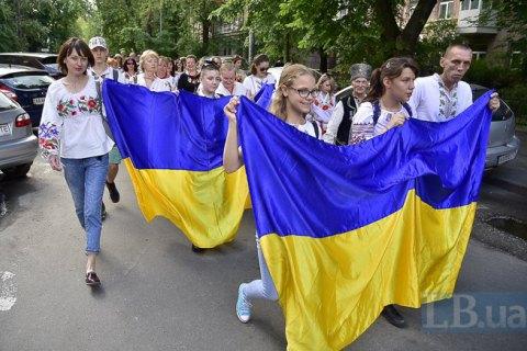 """83% українців вважають себе патріотами, - опитування """"Рейтингу"""""""