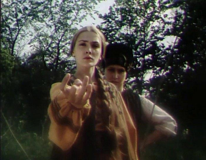 "Кадр из фильма ""Голос травы"""