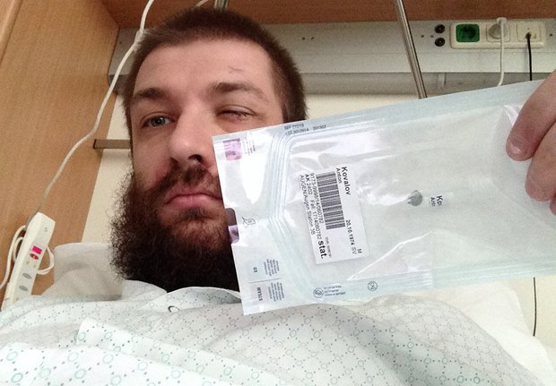 Антон после операции