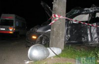 На выходных в Киеве в ДТП погиб молодой мужчина