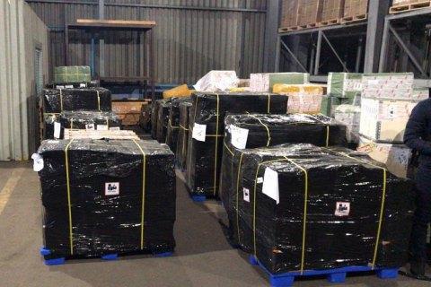 """На складе аэропорта """"Борисполь"""" нашли нерастаможенных товаров на 10 млн гривен"""