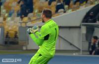 Сборная Украины по футболу одержала победу над Испанией в матче Лиги наций. Видео гола
