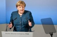 Меркель назвала мир на Донбассе одной из задач немецкого правительства