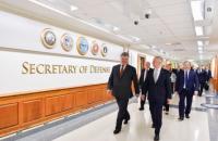 Порошенко провел встречу с министром обороны США