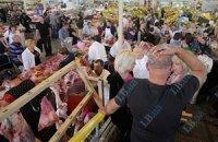 В Киеве пытались закрыть Владимирский рынок