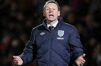 Пирс не хочет руководить сборной Англии